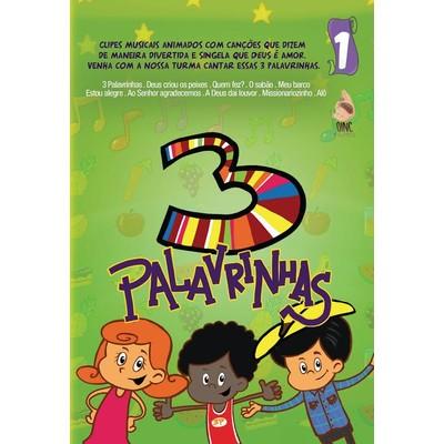 DVD 3 Palavrinhas - Volume 1