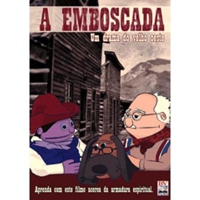 DVD A Emboscada Um drama do Velho oeste - Filme