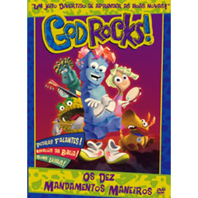 DVD God Rock - Os Dez Mandamentos Maneiros - God Rocks!