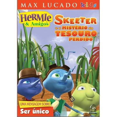DVD Skeeter e o Mistério do Tesouro Perdido - Hermie & Amigos - Max Lucado Kids