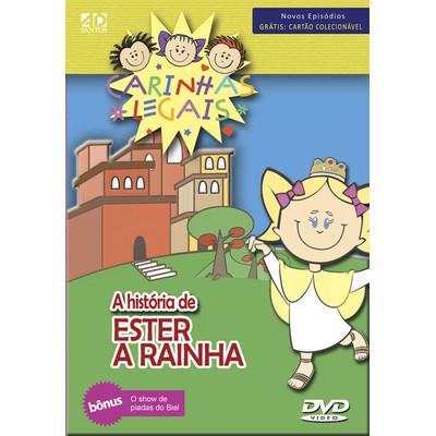 DVD Ester a Rainha - Carinhas Legais - Fantoches