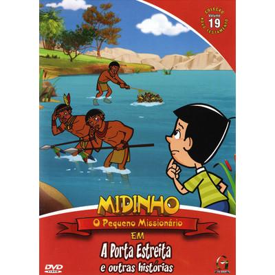 DVD Novo Testamento - Vol. 19 - A Porta Estreita - Midinho
