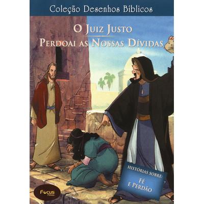 DVD Volume 12 - O juiz justo e Perdoai as nossas dívidas - Coleção Desenhos Bíblicos