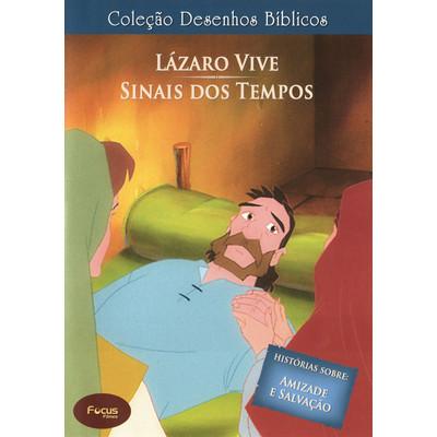 DVD Volume 14 - Lázaro Vive e Sinais dos Tempos - Coleção Desenhos Bíblicos