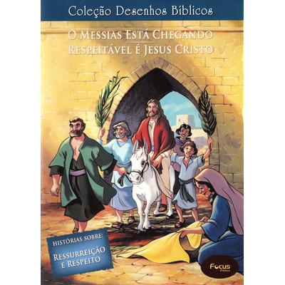 DVD Volume 15 - O Messias está chegando e Respeitável é Jesus Cristo - Coleção Desenhos Bíblicos