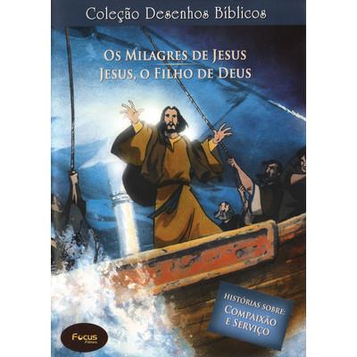 DVD Volume 1 - Os milagres de Jesus e Jesus, o Filho de Deus - Coleção Desenhos Bíblicos