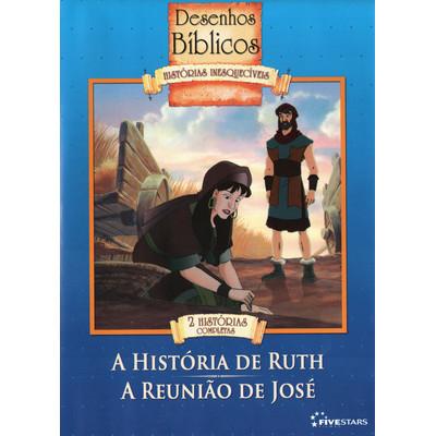 DVD Volume 7 - A história de Ruth e A reunião de José - Coleção Desenhos Bíblicos