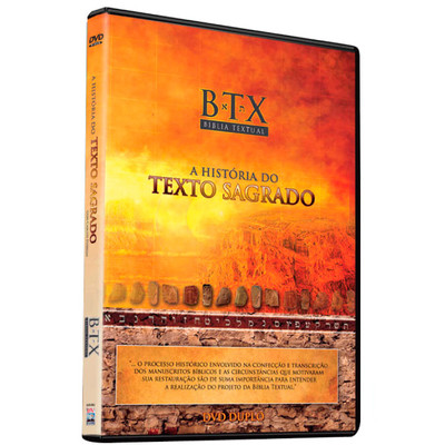 DVD Bíblia Textual - A história do texto sagrado - DVD Duplo - Documentário