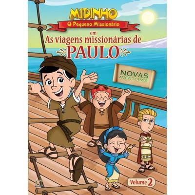 DVD As Viagens Missionárias de Paulo - Vol. 2 - Midinho