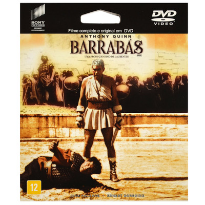 DVD Barrabás - epack