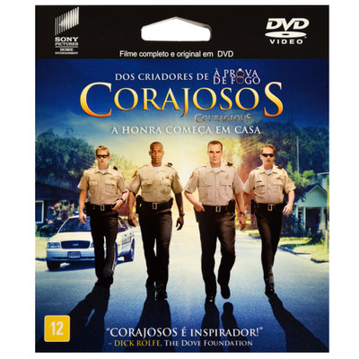 DVD Corajosos - Filme ePack
