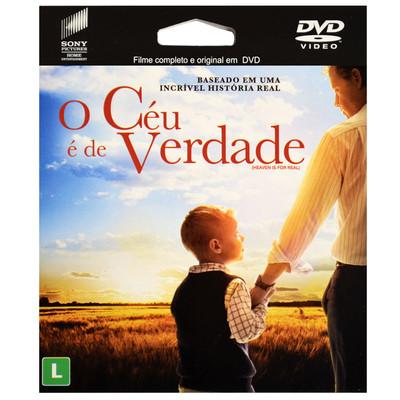 DVD O Céu é de Verdade - Filme epack