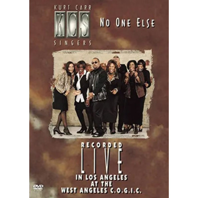 DVD No One Else - Recorded Live - Kurt Carr Singers