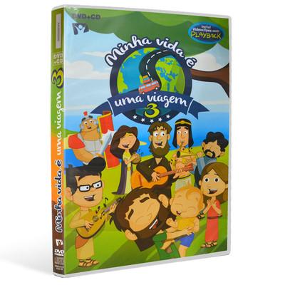 DVD+CD Minha Vida é Uma Viagem - Volume 3