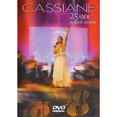 DVD 25 anos de muito louvor - Cassiane