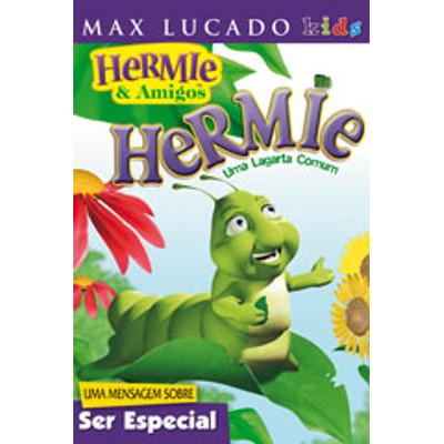 DVD Hermie - Uma lagarta comum - Hermie & Amigos - Max Lucado Kids