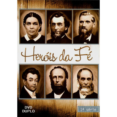 DVD Heróis da Fé - 1ª Série - Documentário