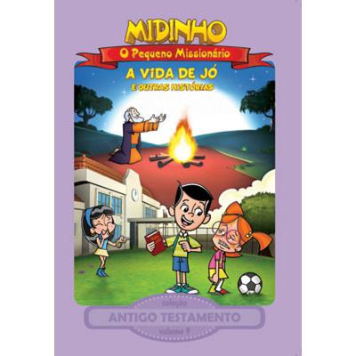 DVD Antigo Testamento - Vol. 9 - A vida de Jó - Midinho