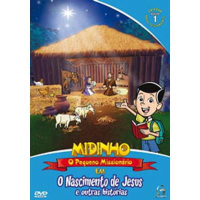DVD Novo Testamento - Vol. 1 - O Nascimento de Jesus - Midinho