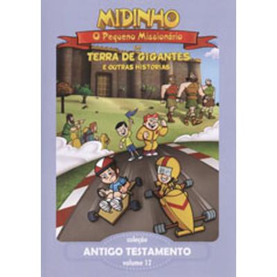 DVD Antigo Testamento - Vol. 12 - Terra de Gigantes - Midinho