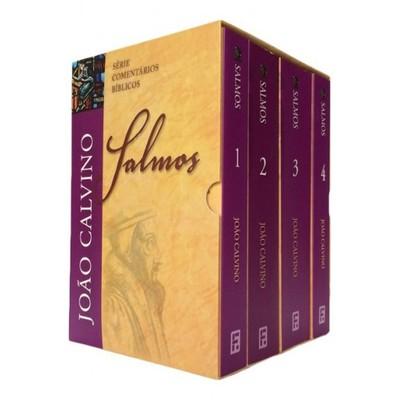 Box Comentário dos Salmos - Volume 1 a 4 - João Calvino