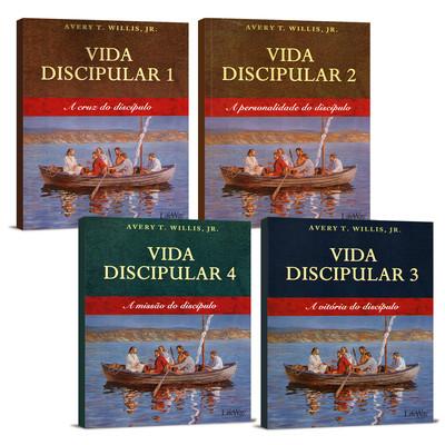 Combo - Vida Discipular 4 Livros - Avery T. Willis Jr.