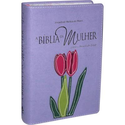 A Bíblia da Mulher (Roxa)