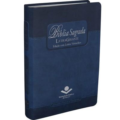 Bíblia Sagrada ARC com Letra Gigante (Azul)