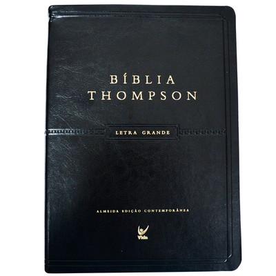Bíblia Thompson Letra Grande (Luxo Preta)