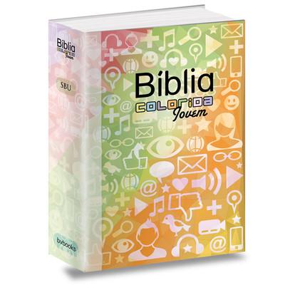 Bíblia Colorida Jovem (Redes Sociais)