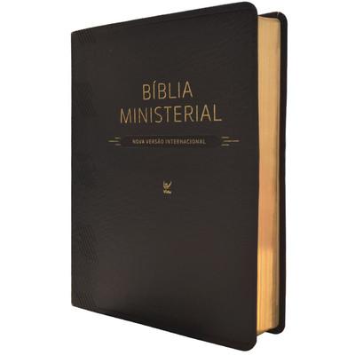 Bíblia Ministerial - NVI (Preta sem índice)