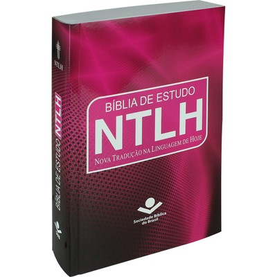 Bíblia de Estudo NTLH - Pink (Brochura)