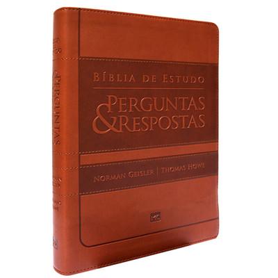 Bíblia de Estudo Perguntas e Respostas (Marrom)
