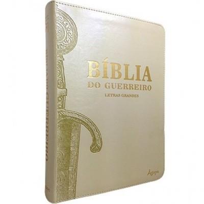 Bíblia Do Guerreiro - Letras grandes (Pérola)