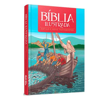 Bíblia Ilustrada para crianças - Antigo e Novo Testamento