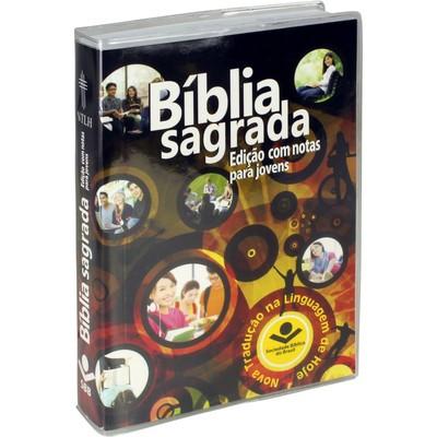Bíblia com Notas para Jovens - Brochura (Educação)