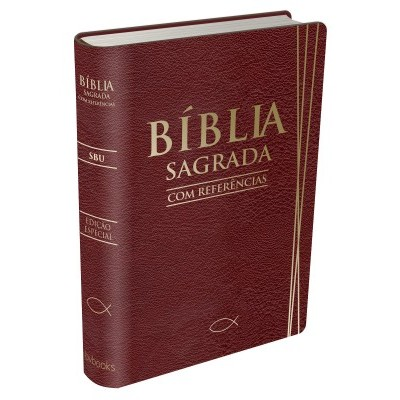 Bíblia Sagrada Com Referências - SBU (Vinho)