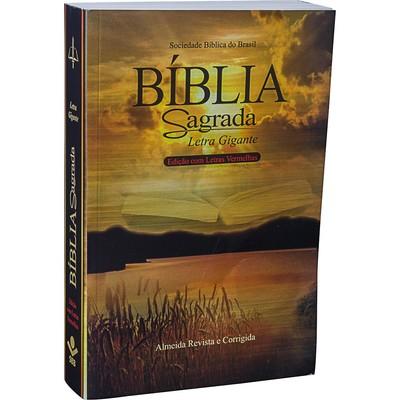 Bíblia Sagrada Letra Gigante - RC (Brochura)