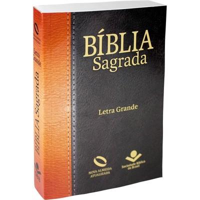 Bíblia Sagrada - NA (Brochura Tradicional) Letra Grande