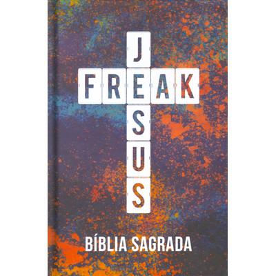 Bíblia Jesus Freak (Capa Color)
