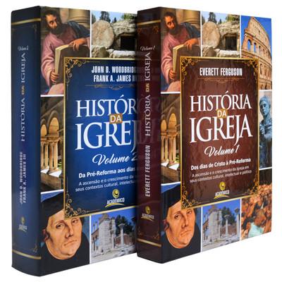 Box História da Igreja | Volume 1 e 2