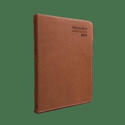 Agenda Executiva - Pão Diário 2019 (Luxo Marrom)