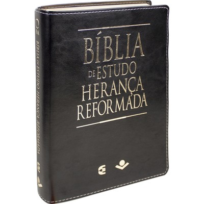Bíblia de Estudo Herança Reformada (Luxo Preta)