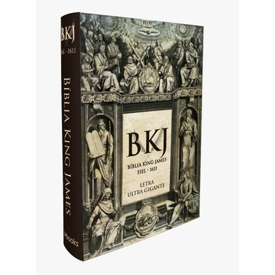 Bíblia King James 1611 (Letra Ultra Gigante - Capa Dura)