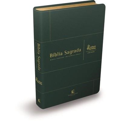 Bíblia NVI Leitura Perfeita - Capa Verde - Letra Grande