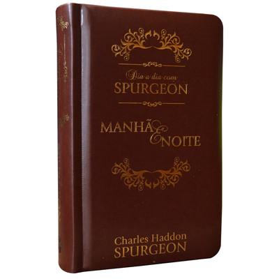 Dia a Dia com Spurgeon (Capa Luxo Marrom)
