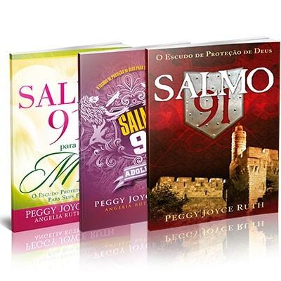 Kit Salmo 91 - 3 livros - Peggy Joice Ruth