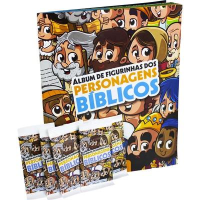 Álbum de Figurinhas - Turma da Bíblia