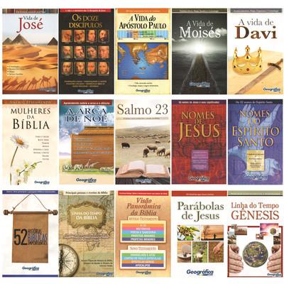 Combo Estudos Bíblicos Em Esquema - 15 livretos