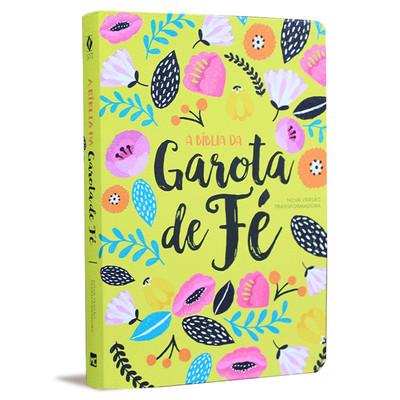 A Bíblia da Garota de Fé - NVT - Primavera